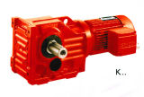 K Series Foot Mounted Helical Geared Motor