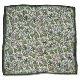Lady Silk Chiffon Square Fashion Printed Scarf (YKY4134)