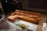 Sofa Furniture Luxury Living Room Corner Sofa Set (N809)