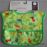 High Quality Pure Cotton Soft Baby Bib with Printing