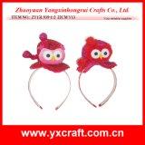 Valentine Decoration (ZY13L939-1-2) Valentine Owl Head Clip Ornament Gift