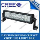 "12"" 20*3W CREE LED Driving Light Bar, 60W CREE LED Fog Light Bar, Dual Row Work Light LED Bar Lighting Flood/Spot/Combo with Color Covers"