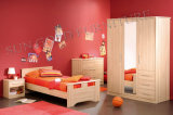 Pink Wooden Kids Bed for Girls (SZ-BF146)