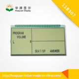Positive 7 Segment LCD Display
