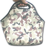Neoprene Printed Tote Lunch Bag for Kids and Adult (QK-L-014)