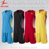 Healong Cheap Team Uniforms for Man Basketball Jerseys