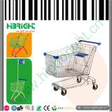 Metal Shopping Barrow for Supermarket