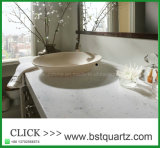 Cut-to-Size Quartz Stone Bath Vanity Tops
