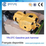 Hand Held Gasoline Vertical Pionjar 120 Quarrying Rock Drill