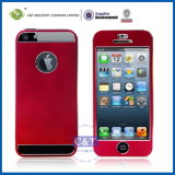 Front and Back Aluminum Cell Case for iPhone 5s