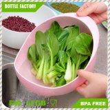 Creative Wash Rice Fruit Vegetable Sieve Plastic Kitchen Drain Basket