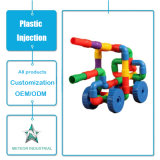 Customized Plastic Mould Kids Educational Splicing Toy Plastic Injection Tooling