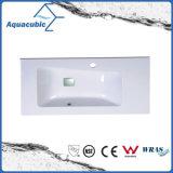Polymarble Single Lever Bathroom Sink and Vanity Top Acb9047
