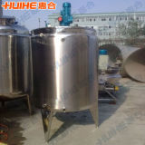 Electric / Steam Cold Hot Cylinder Mixing Tank for Ice Cream
