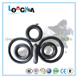 Clean and Beautiful Motorcycle Tire and Inner Tube (3.00-18)
