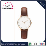 2017 OEM Fashion Dw Style Promotional Japan Movt Gold Watches for Women (DC-1092)
