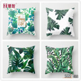 Hot Selling Printed Leaf Cushions