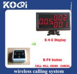 Latest Convenient 433.92MHz Restaurant Wireless Ordering System