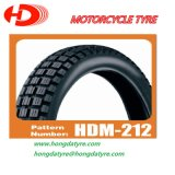 Motorcycle Tyre off-Road Pattern 3.00-18