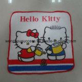 Kids Cartoon Small Square Towel
