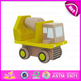 2015 Lowest Price Wooden Kids Toy Carrier Car, New Design Handmade Wooden Car, Best Wooden Mini Car Toy for Boys & Girls W04A094