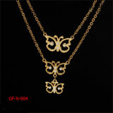Glold Plating Butterfly Necklace