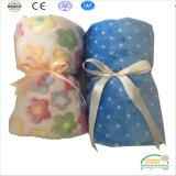 Flower Printing Super Soft Baby Blanket China Factory
