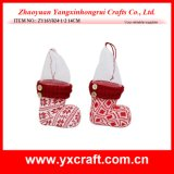 Christmas Decoration (ZY16Y024-1-2 14CM) Christmas Cookie Holder