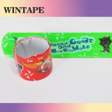 Custom PVC Slap Bracelet Debossed Under Your Design