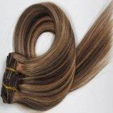 Brazilian Virgin Hair Clip in Human Hair Extensions