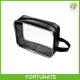 Clear Cosmetic Premium Plastic PVC Nylon Zipper Bag Package