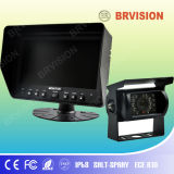 "7"" Color Quad View LCD Bus Monitor with Touch Screen"