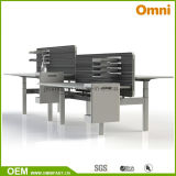 2016 New Hot Sell Height Adjustable Table with Workstaton (OM-AD-177)