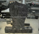 Specified Cemetery Stone with Dark Green Granite