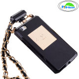 New Perfume Chaneling Bottle Mobile Phone Case with Necklace for iPhone (PRE-O4S)