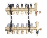 8 Loops Copper Underfloor Heating Manifold (G30-8)