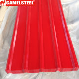 PPGI Color Coated Galvanized Corrugated Steel Roofing Sheets