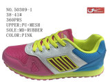 No. 50309 Two Colors Big Size Kids Sport Stock Shoes 38-41#