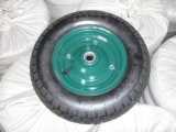 Wheelbarrow Tyre and Tube Pneumatic Wheels 3.50-7