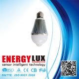 Es-B04 E27 Aluminum Body 6W PIR Bulb