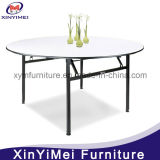 Folding Round Wedding Restaurant Hotel Banquet Table (XYM-T01)