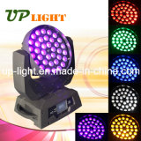 Stage LED Lighting 36PCS*18W Rgbwauv 6in1 Moving Head