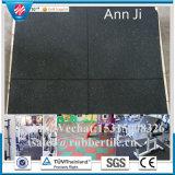 Anti-Slip Safety Weightroom Gym Tile, Training Square Gym Flooring Tile
