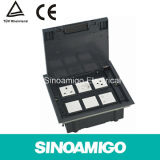 Raised Access Floor Box (Floor Socket) Smart Outlet Connector Multi Ground Socket Modular Jack