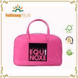 Girls Cutie Shiny Pink PVC Fashion Bowling Bag