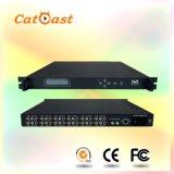 12*CVBS+Audio to DVB-T RF SD Encoder Modulator with Qpsk, 16 Qam, 64 Qam