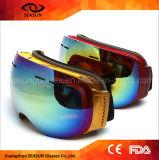 Mirrored Coating Anti Scratches UV400 Custom Brands Ski Googles Women Style Skiing Goggles