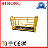 Steel or Alumium Cradle, Gondola, Scaffolding Platform, Suspended Platform for Overhead Work