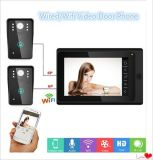 New 7 Inch Touch Screen Video Door Phone Doorbell Suitable for WiFi or Wires