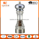 Ceramic Core Acrylic Handed Salt and Pepper Mill